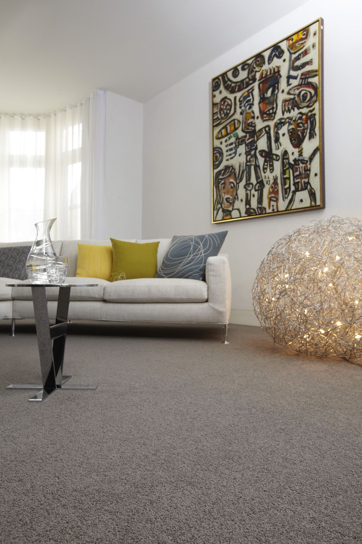 best modern carpets grey wool carpet creates a good base for bright accessories in this modern QFUODTA