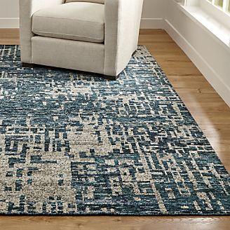 best rugs celosia indigo blue hand knotted rug EBYNHVA