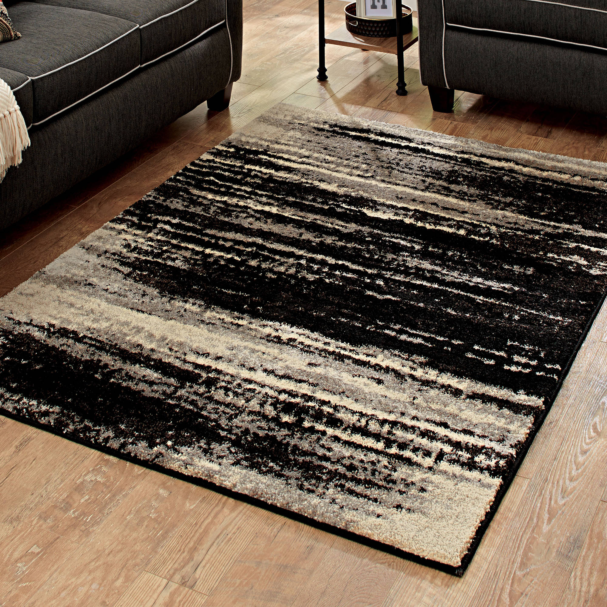better homes and gardens shaded lines area rug or runner OEKSDLL
