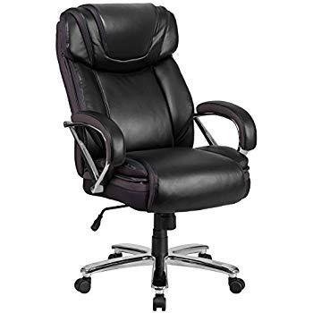 big office chairs flash furniture hercules series big u0026 tall 500 lb. rated black leather UZHKQBK