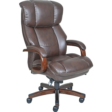 big office chairs la-z-boy fairmont big and tall comfortcore traditions executive office chair  - biscuit SQYLSFC