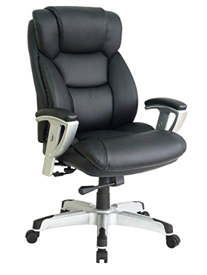 big office chairs office factor new big and tall black executive office chair bonded leather YUBBXRW