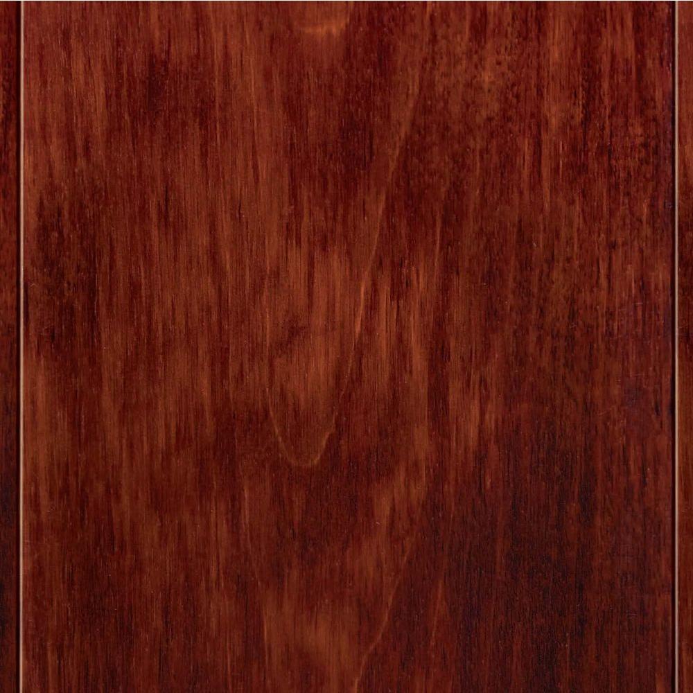 birch flooring home legend high gloss birch cherry 3/8 in. t x 4-3 ZTLPXYN