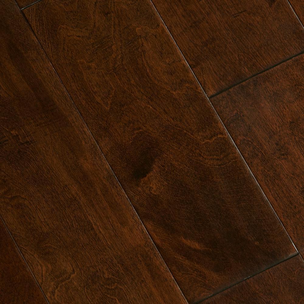 birch hardwood flooring home legend hand scraped birch heritage 3/8 in. t x 5-3 VSYRICT