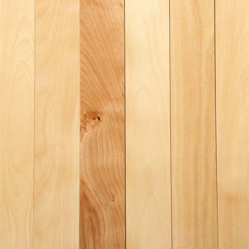 birch hardwood flooring mono serra canadian northern birch natural 3/4 in. t x 2-1/4 in. wide OPTLTRH