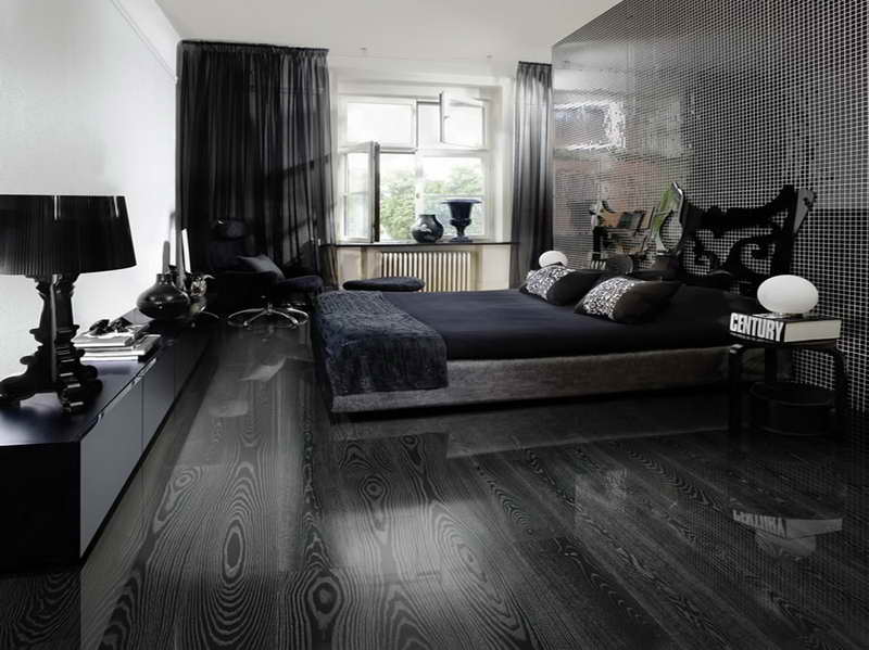 black hardwood flooring as an excellent combination of quality and  throughout wood MGPZZZI