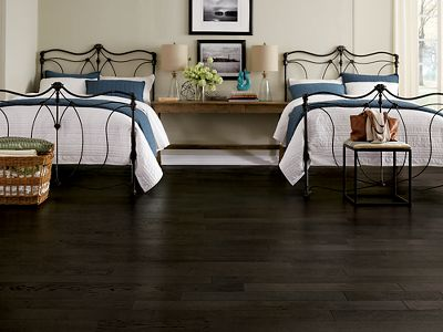 black hardwood flooring black wood flooring WPNMLKT