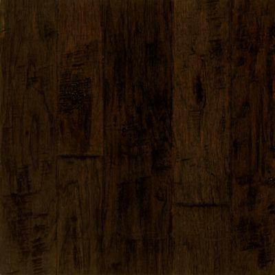 black hardwood flooring hickory engineered hardwood - artesian brunet YDNDLEI
