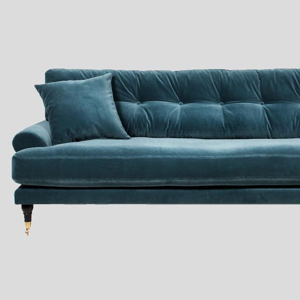 blanca petrol velvet sofa UUMHBTP