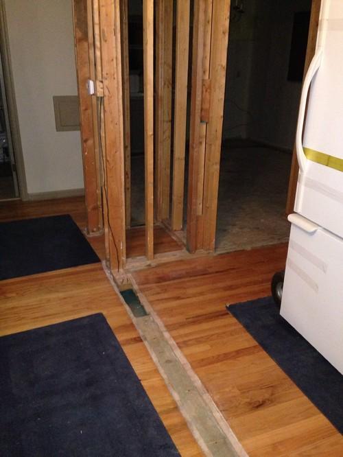 blending old and new hardwood floors DAXWWKL