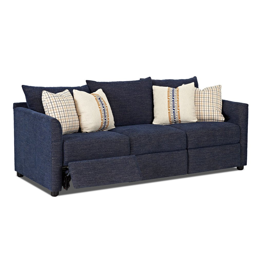 blue reclining sofa atlanta power reclining sofa; atlanta power reclining sofa ... KCOFQKE