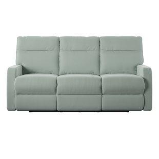 blue reclining sofa save JABNSCX