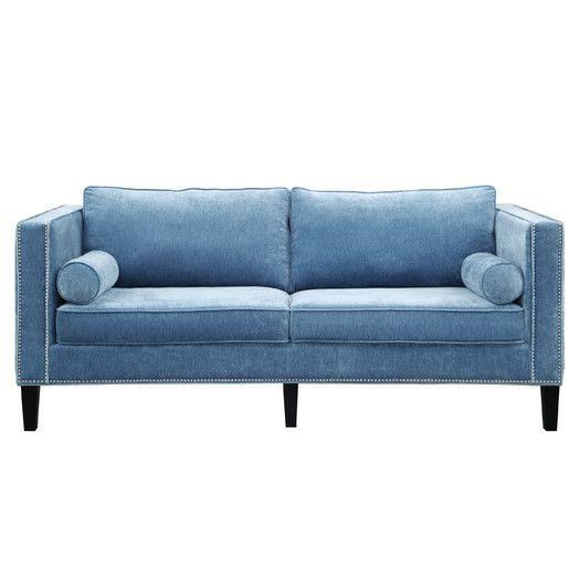 blue sofa 20 best blue sofas - stylish blue couch ideas HQZOXMK