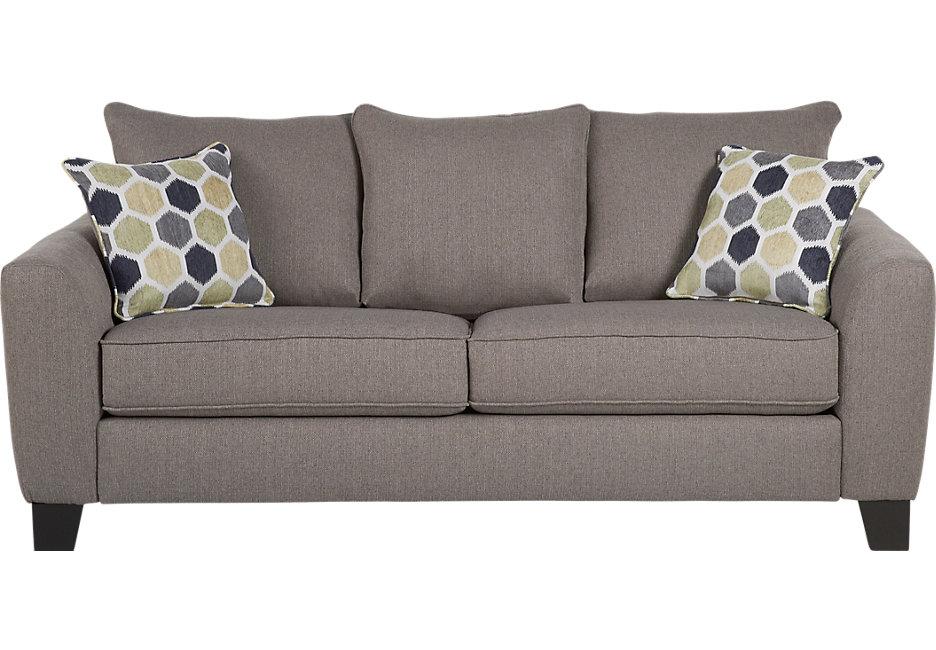 bonita springs gray sleeper sofa - sleeper sofas (gray) ONBBVWS