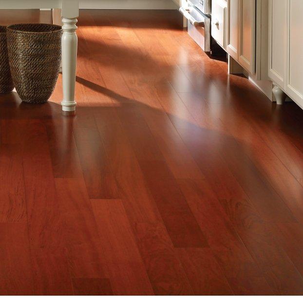 brazilian cherry hardwood flooring 3-1/2 IQSHBFH