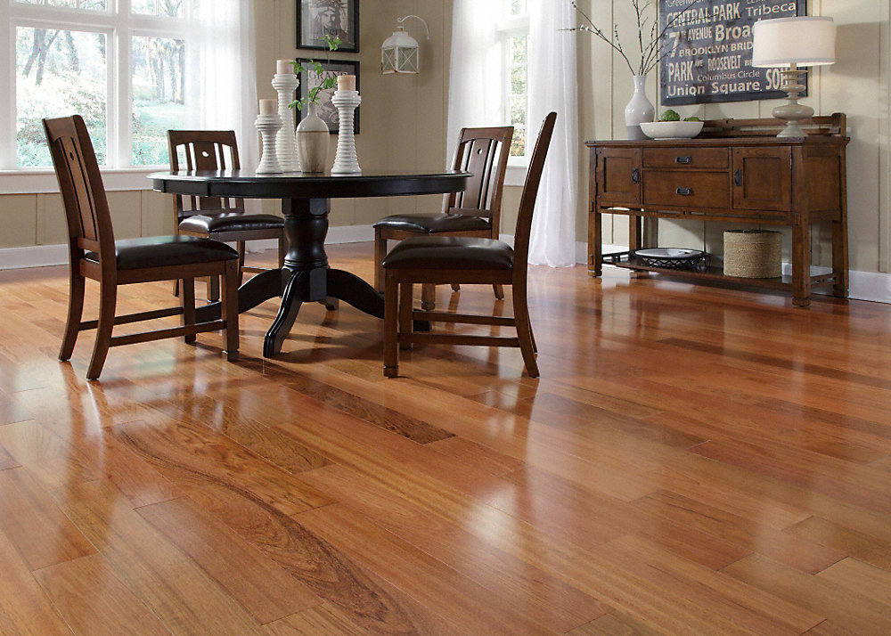 How to decorate your home with brazilian cherry hardwood flooring?