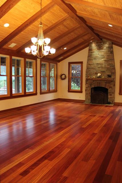 brazilian cherry hardwood flooring craftsman WTNKMMI