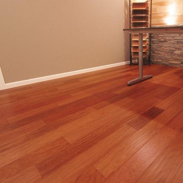 brazilian cherry hardwood flooring ... hand scraped natural brazilian cherry 5 OIEUAXG