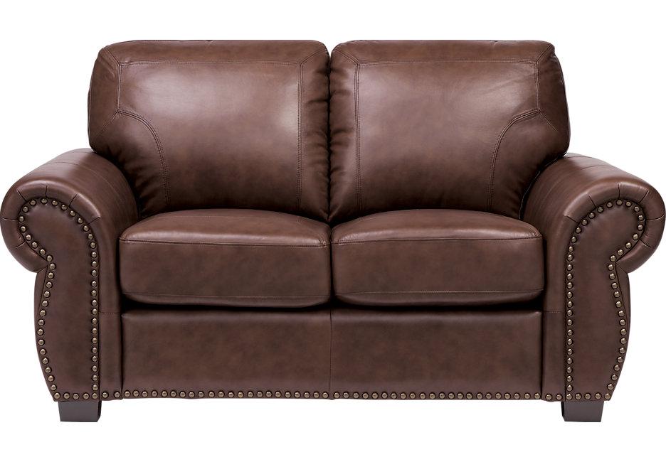 Brown leather loveseat balencia dark brown leather loveseat HVMBZRN