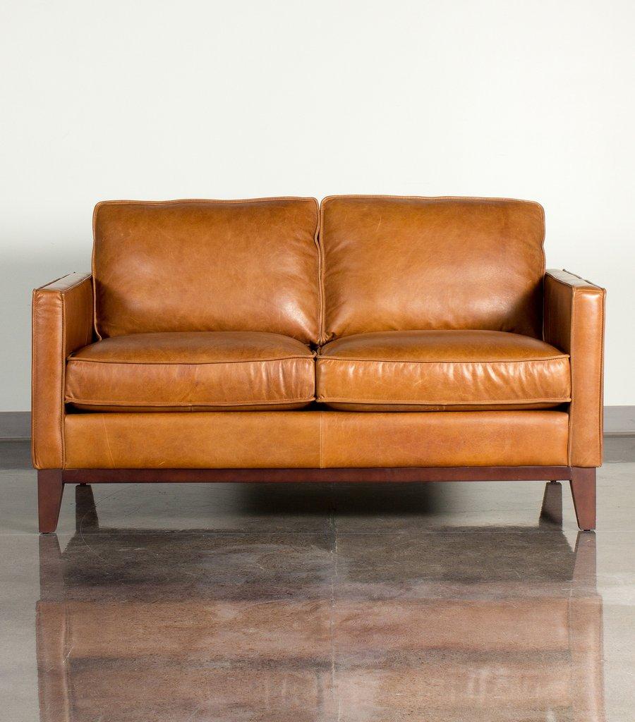 Brown leather loveseat paladin leather loveseat WYHTWUZ