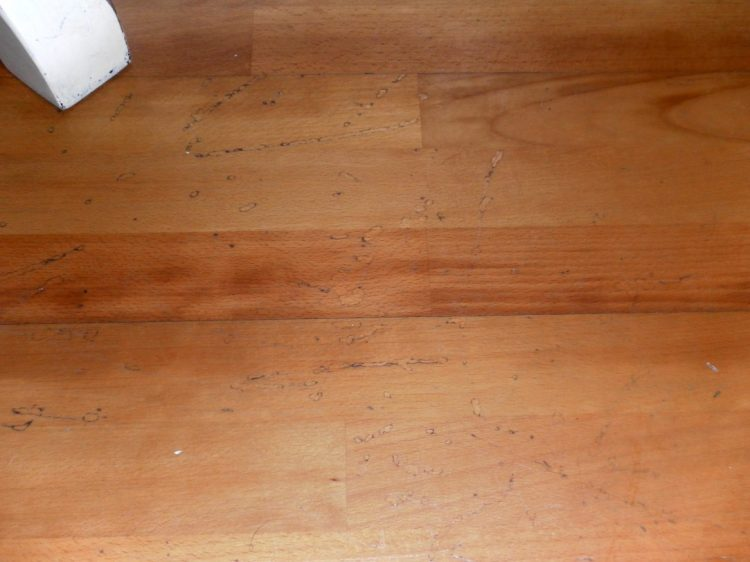 budget friendly flooring scratched up laminate floors BRMIZFP