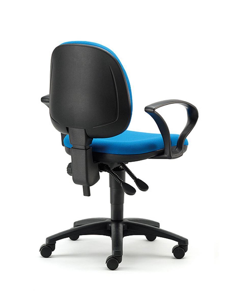 chairs for office office furniture:two arms rev office chair with fold away arms blue office TJCDEYH