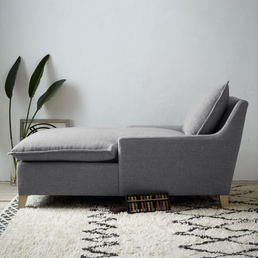 chaise couch bliss down-filled chaise NQBFWTZ