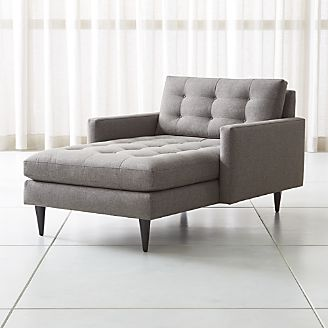 chaise couch petrie midcentury chaise lounge YADRMLO