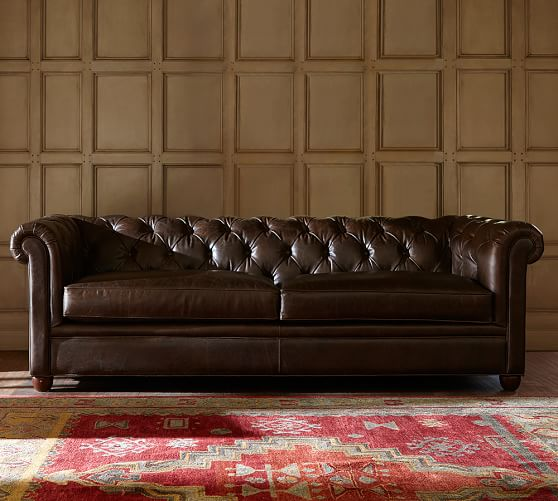 chesterfield leather sofa GVZUDEF