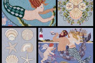 claire murray - coastal treasures hand hooked rugs SIJYRDZ