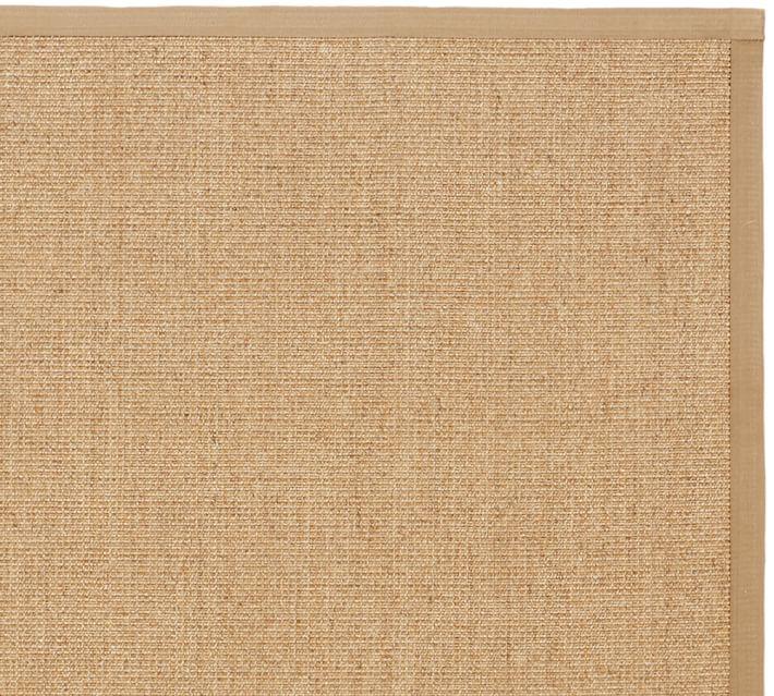 color-bound natural sisal rug - chino | pottery barn BATQEHR