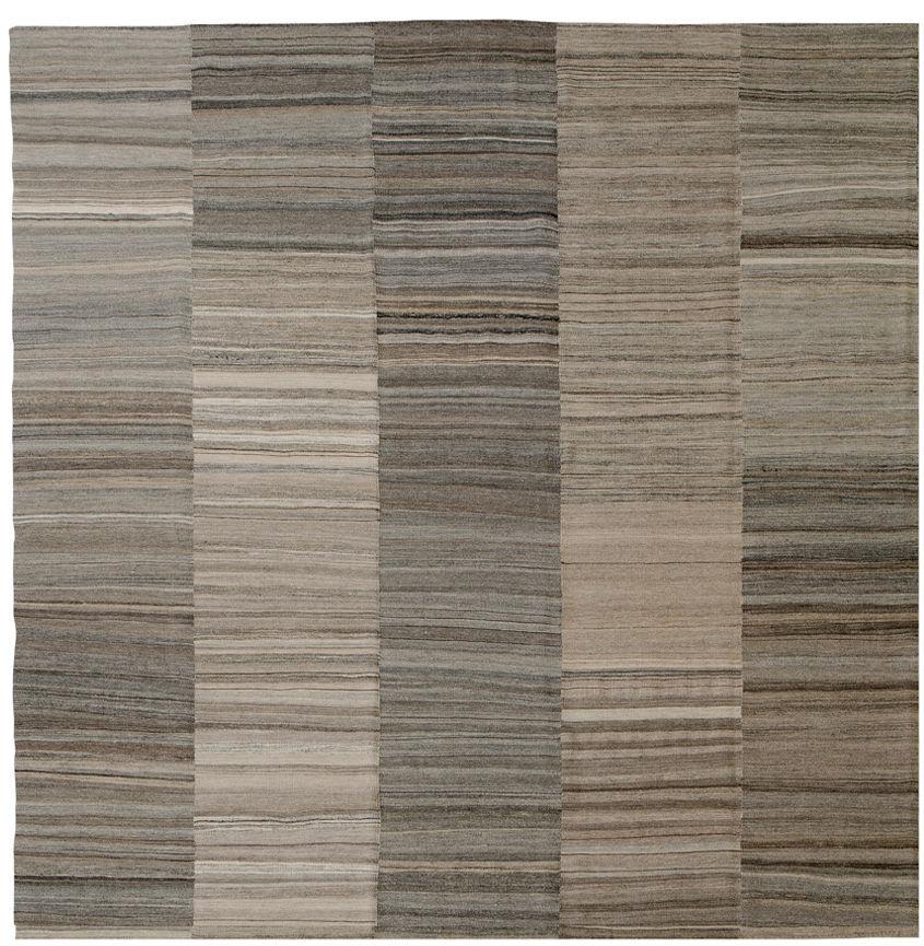 contemporary carpets contemporary rug / striped / wool / rectangular - ginseng KUVTGLI