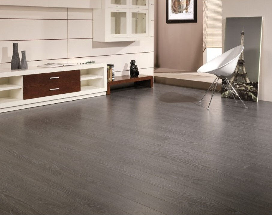 contemporary laminate flooring astonishing design of the grey hardwood floors with white media cabinets  and PVOFZUI