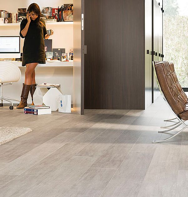 contemporary laminate flooring ... contemporary living room with glossy laminate floors view in gallery  modern XYSWHTN