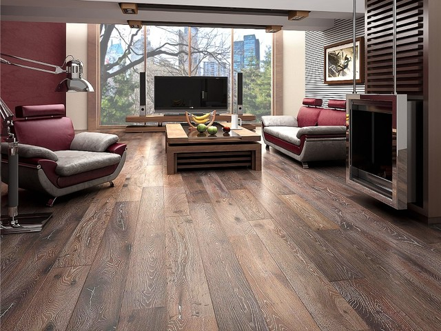 contemporary laminate wooden floors when to use engineered wood floors LCBWDDY