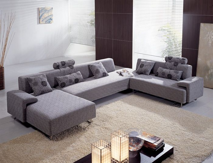 Contemporary sectional sofas contemporary sectional sofa set in microfiber XRLWDCT