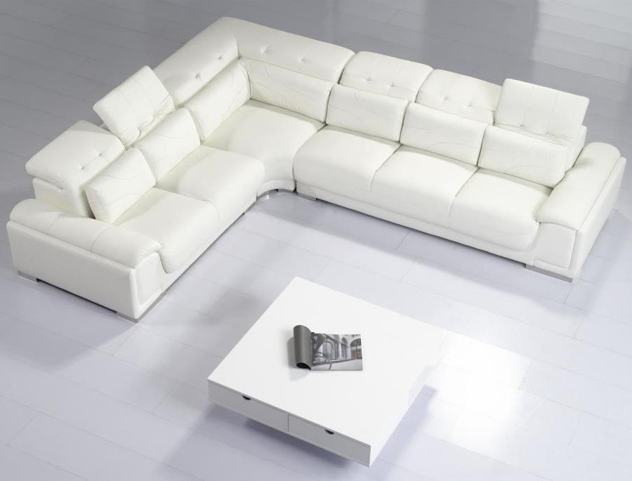 Contemporary sectional sofas white contemporary sectional sofas XSBLKUL