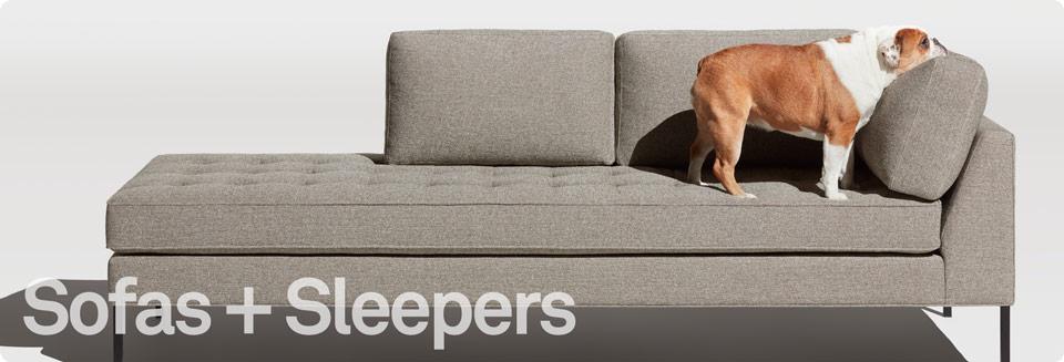 contemporary sleeper sofa modern sofa sleepers - sofa sleepers collection by blu dot DTRICBX