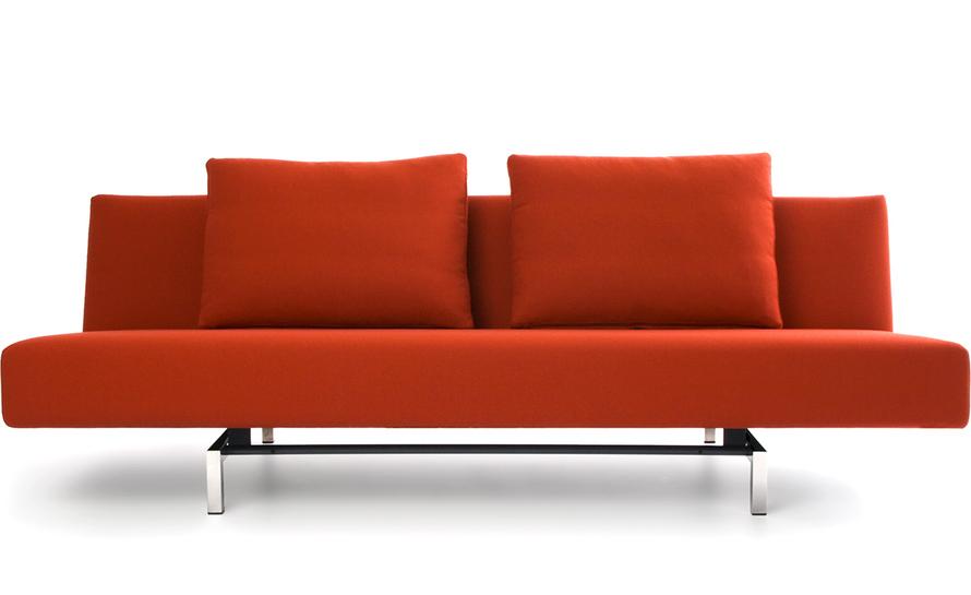 contemporary sleeper sofa sleeper sofa with 2 cushions OICWMAJ