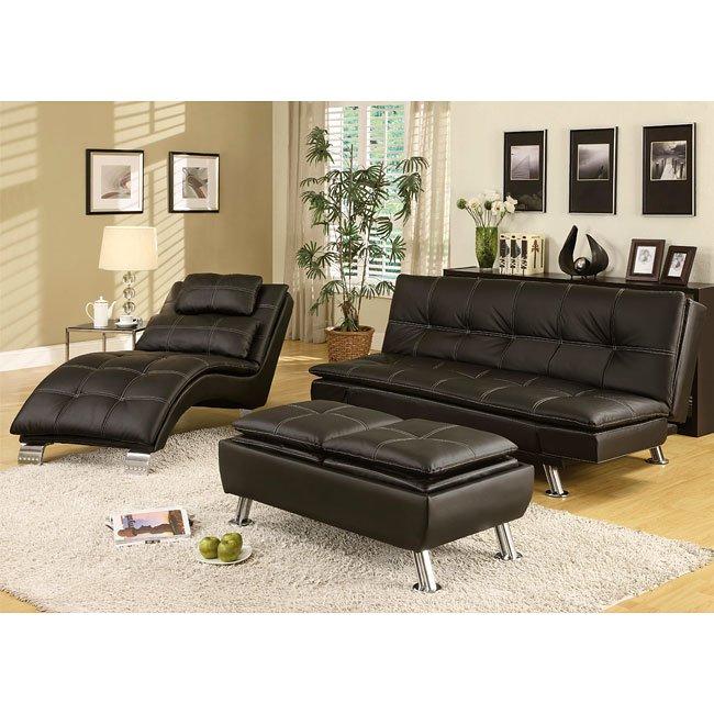 contemporary sofa bed set (black) coaster furniture | furniturepick ZKEKNDU