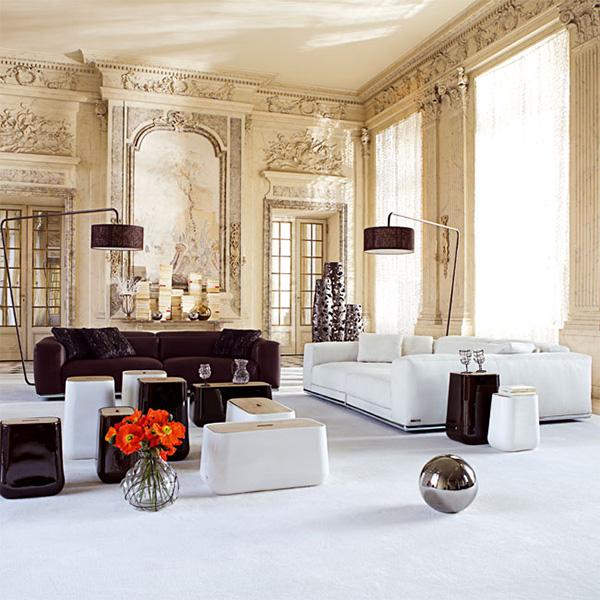 Contemporary Sofas for Home Interior contemporary furniture by roche bobois inside traditional walls VYAMNMJ