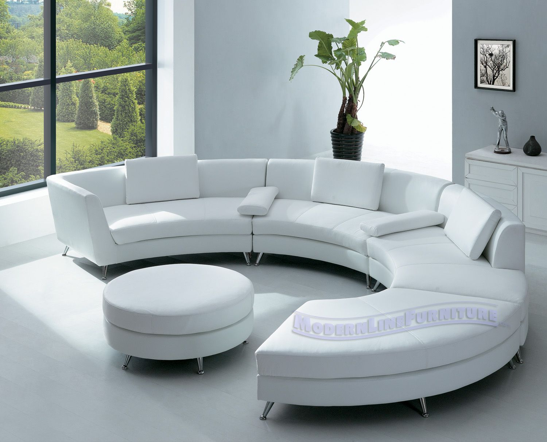Contemporary Sofas for Home Interior room furniture with elegant half circle sofa home interior designs MZXSVPQ