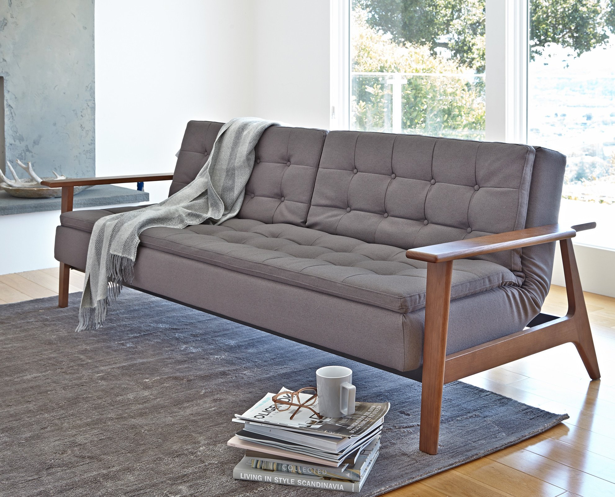 convertible sofas for living room classic scandinavian modern design sleeper convertible daybed XCLPAGA