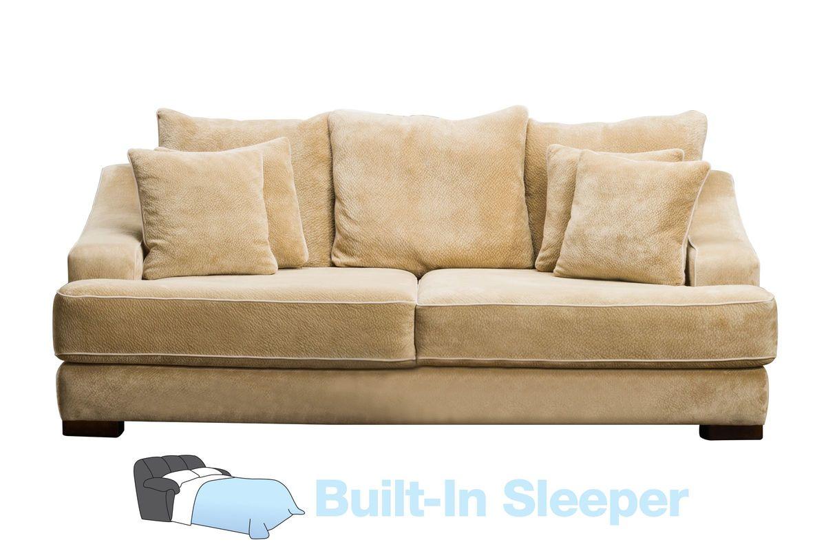 cooper microfiber queen sleeper sofa from gardner-white furniture AMCZNMY