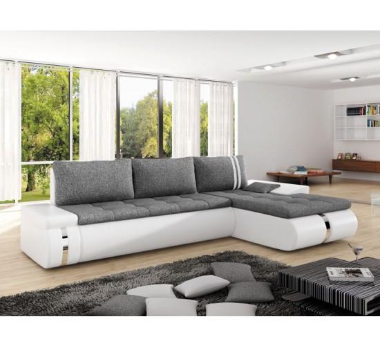 corner sofa bed fado mini right white special offer SYOVBCY