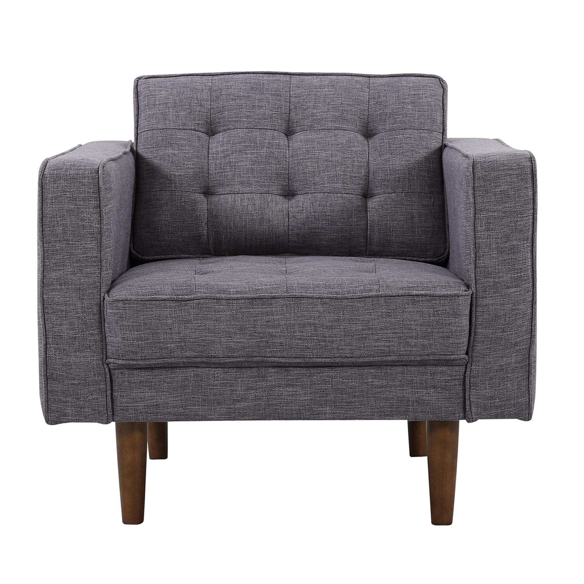 corrigan studio nietos mid-century modern armchair | wayfair KHUKFCN