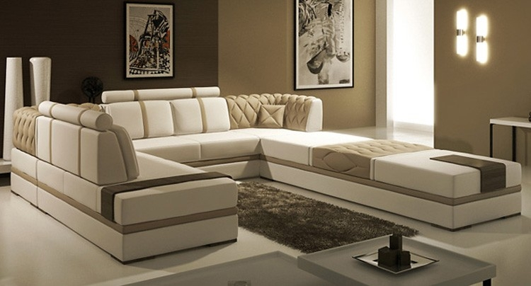 custom sectional sofa tosh furniture manhattan leather sectional sofa in taupe flap stores custom  sectional YLPQXNU