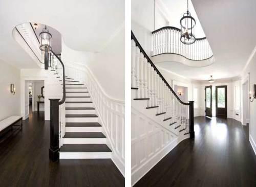 dark wood floors avoid glossy dark hardwood floors VQOXWFJ