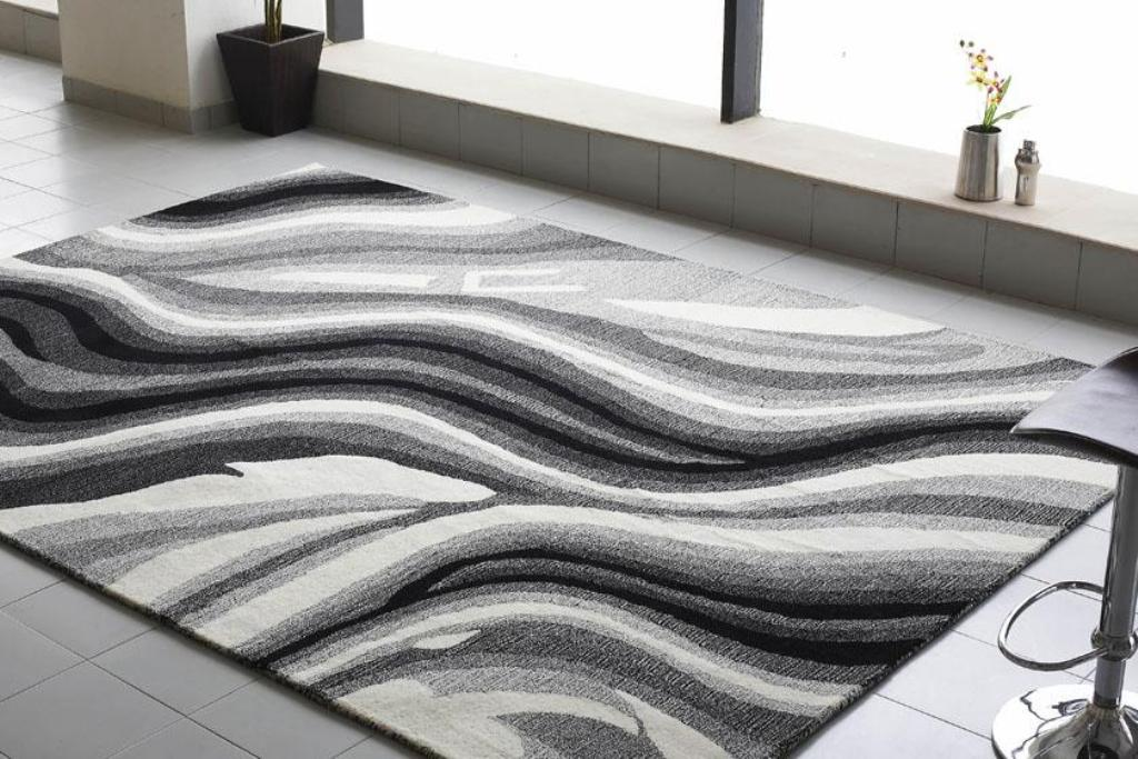 decorate your living room with modern rugs UONGGHQ