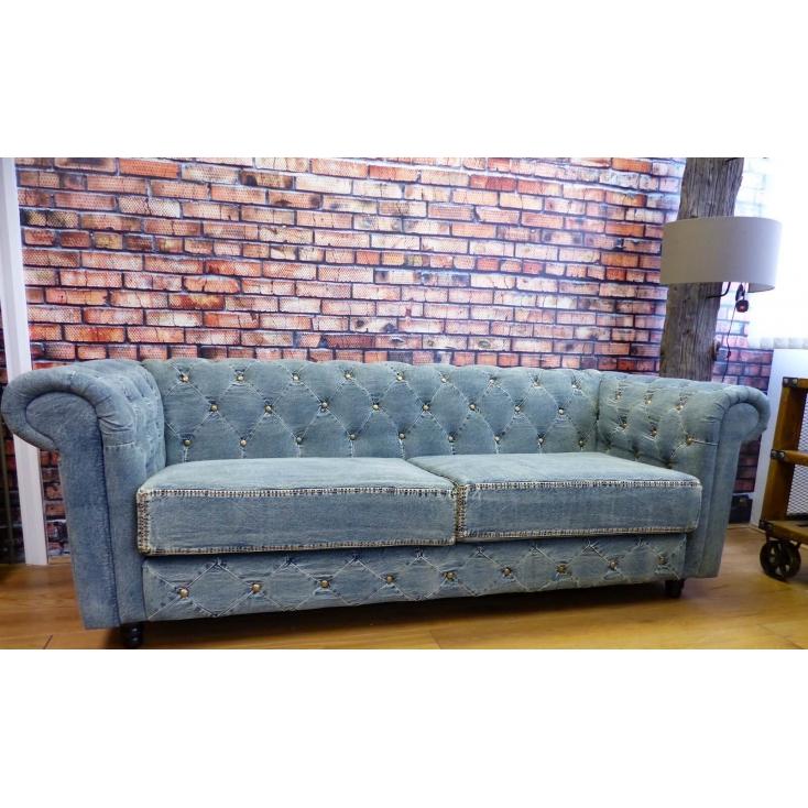 denim sofa denim chesterfield BJRSALW